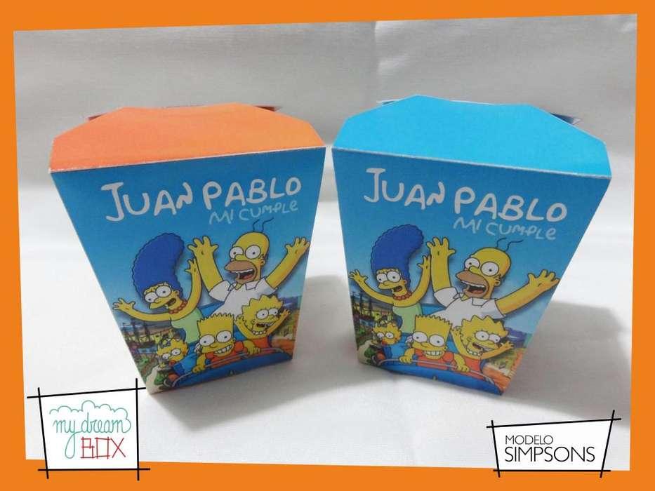 Los Simpsons Personalizado F1 Golosinas Homero Bart Souvenirs cajas Figaro Lisa