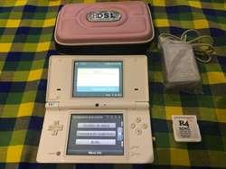 Nintendo Ds Blanca con R4 Y Juegos