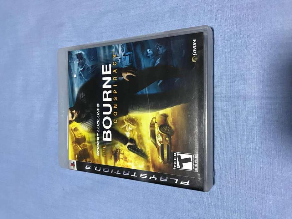 THE BOURNE CONSPIRACY...PS3 GAME