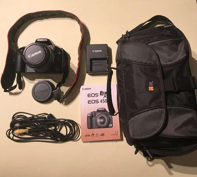 Camara Canon Rebel XSI 1855 MM 6 accesorios