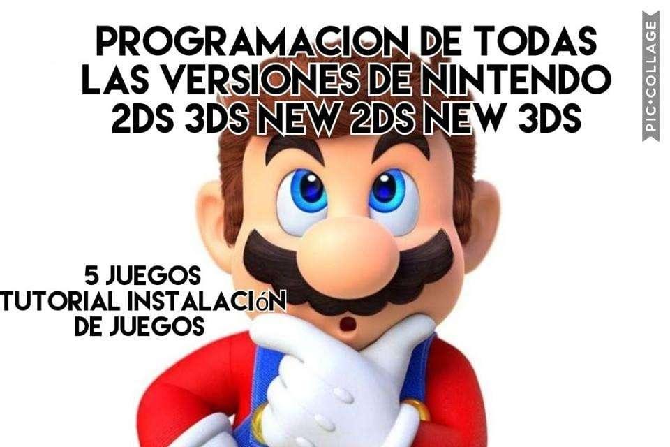 programacion para nintendo 2ds y 3ds con juegos 3d