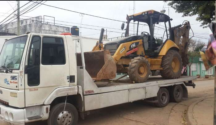 Traslado vehículos y maquinas 03412098098