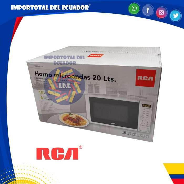 Horno de microondas color blanco ''nuevo'' 20 litros pequeño / 700 vatios / RCA P70B20AP-SF / 1 año garantía