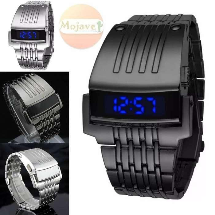 Reloj Digital Militar Tipo: Ironman