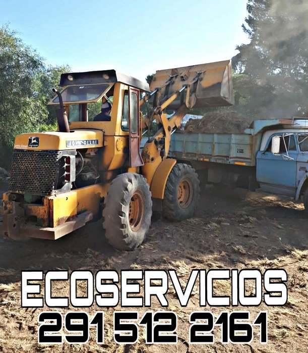 ECOSERVICIOS. Alquiler de maquiaria: Limpieza de terrenos, movimiento de suelos