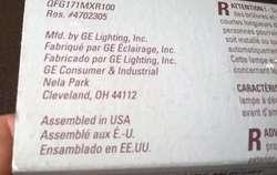 Bombillo Metal halide 70W General Electric Nuevo