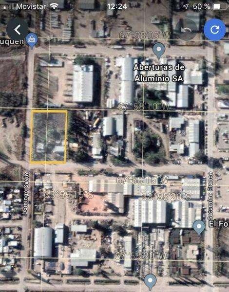 Lote en Venta en Parque industrial, Cipolletti US 400000