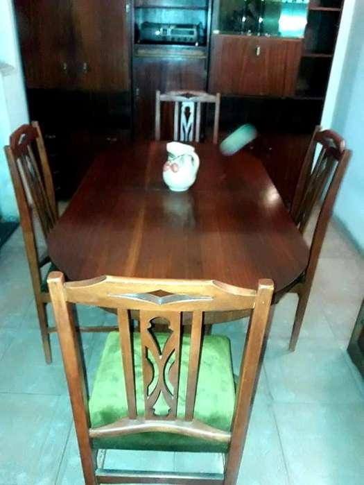 juego <strong>comedor</strong> 4 sillas mesa