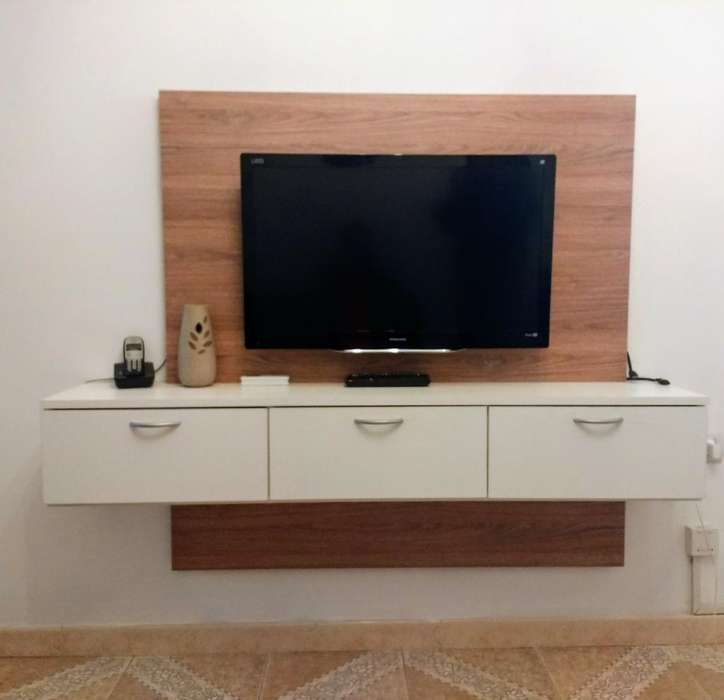 Rack Mueble Colgante para Tv Smart