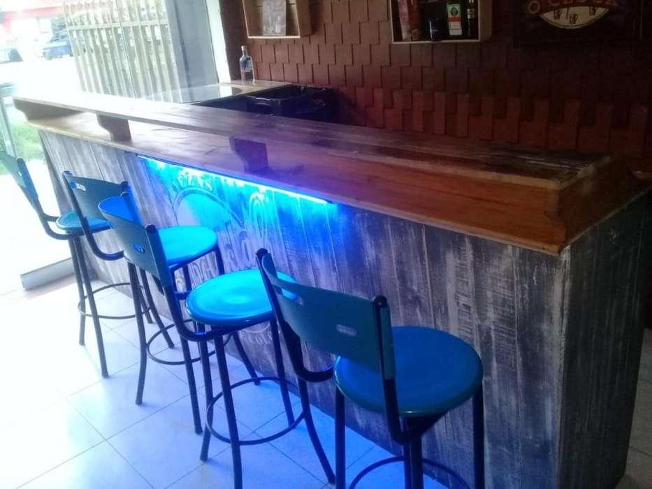 se vende barra para bar