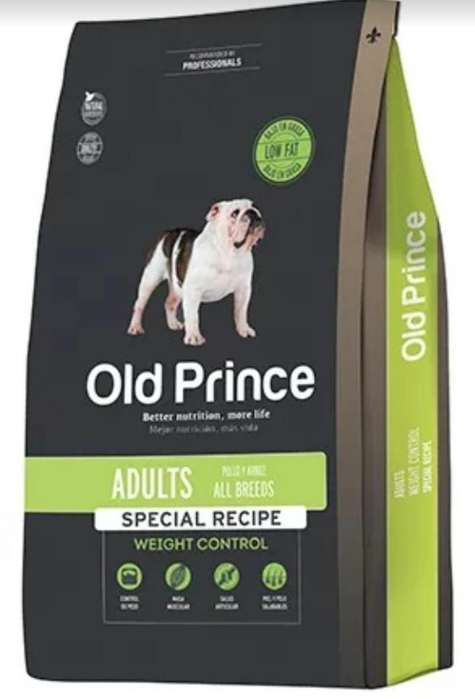 Old Prince x 15 kg Weight Control All Breed