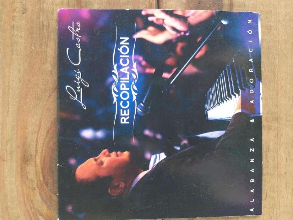 Album recopilación Luigi Castro alabanza y adoración