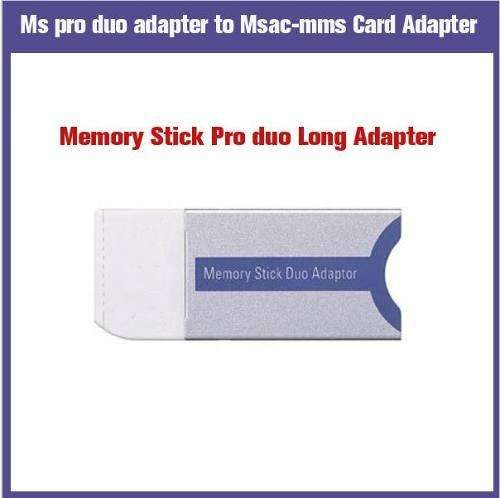 Adaptador Memory Stick Pro Duo Sony Cámaras Galaxy Oferta Pc