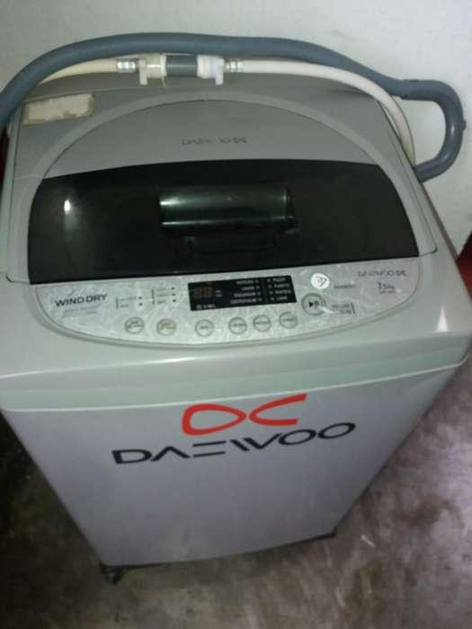 Lavadora Daewoo 7.5kg Usada