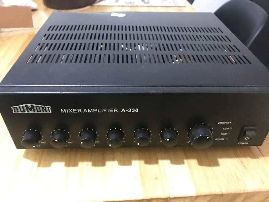 Amplificador Dumond A-330