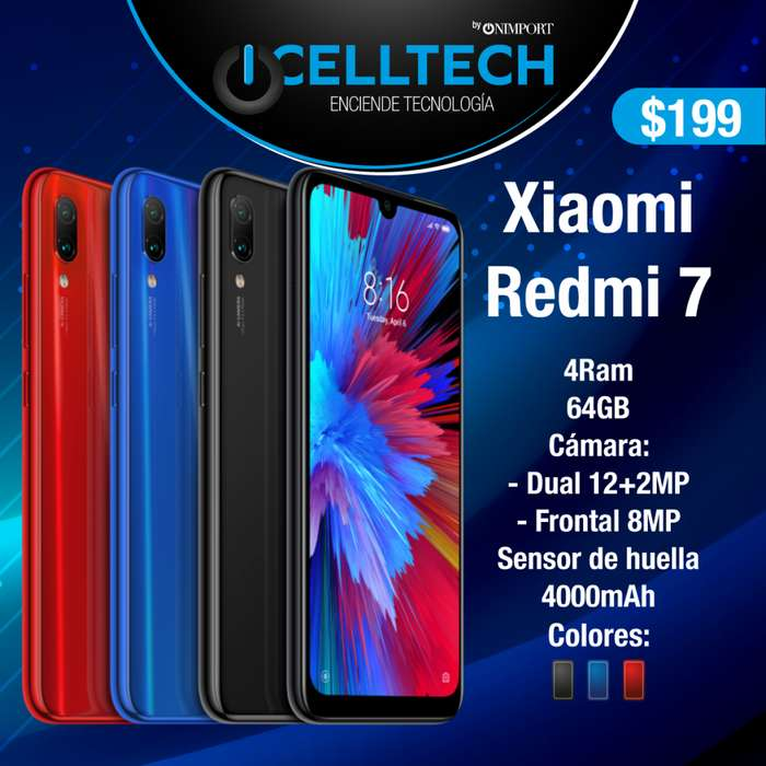 XIAOMI REDMI 7 3GB 64 GB
