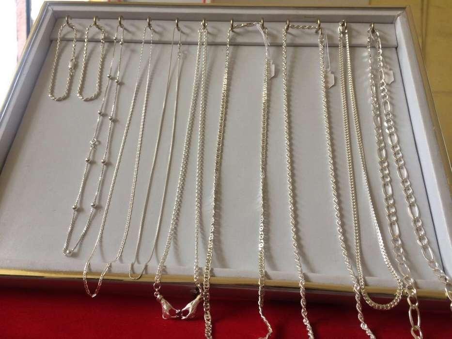 Cadenas en Plata Pura de .950 desde 40