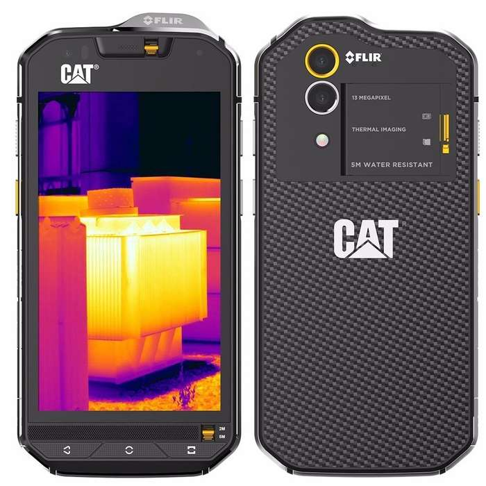 Celular Caterpillar S60 32gb Negro