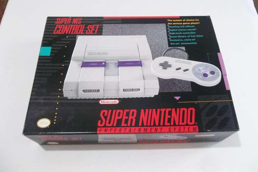 Consola Super Nintendo SNES - Pixelfunk