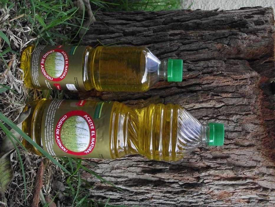 Aceite de Ajonjoli Prensado en Frio alta calidad 500 ml