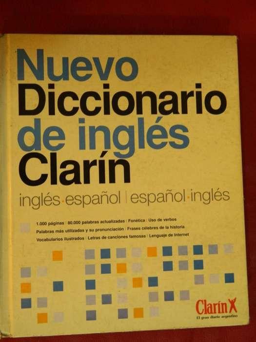 Nuevo Diccionario De Ingles Clarin ingles/español/ingles Usado