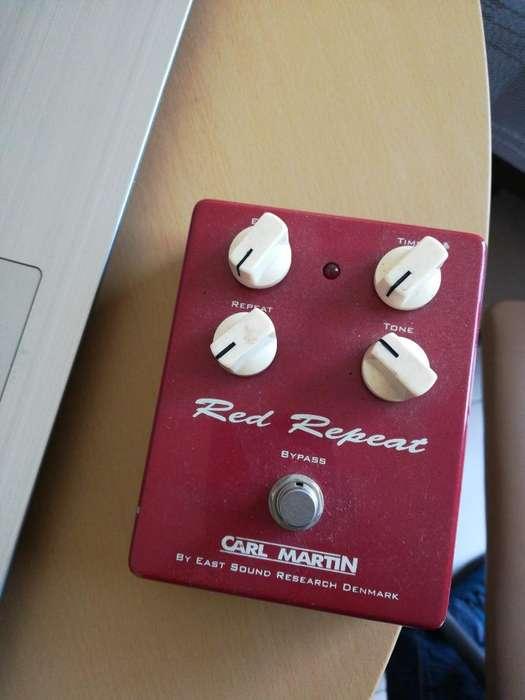 Pedal para Guitarra Delay Carl Martín Red Repeat