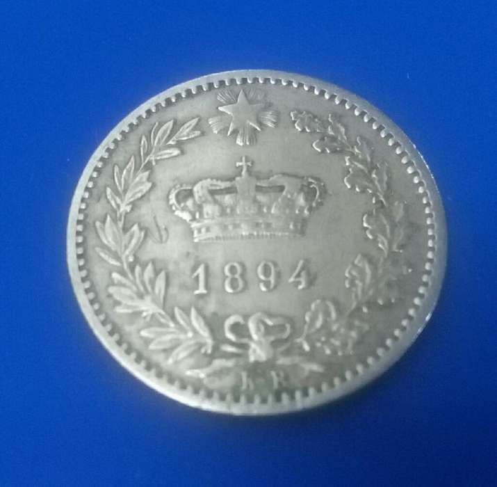 Moneda Italia Año 1894