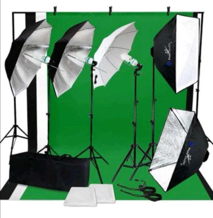Kit Iluminación Video Studio Fotografía