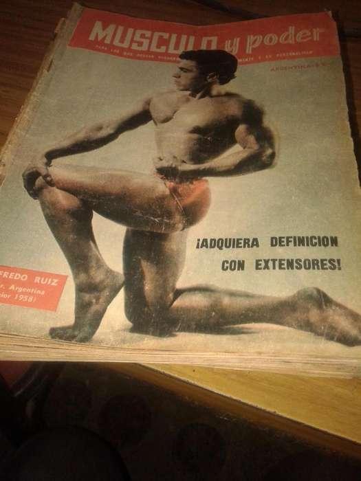 vendo lote de revistas Musculos y poder año 1959
