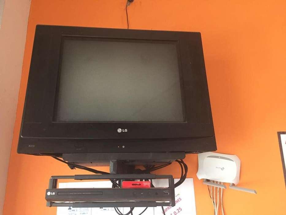 TV 21 ULTRA SLIM DVD LG