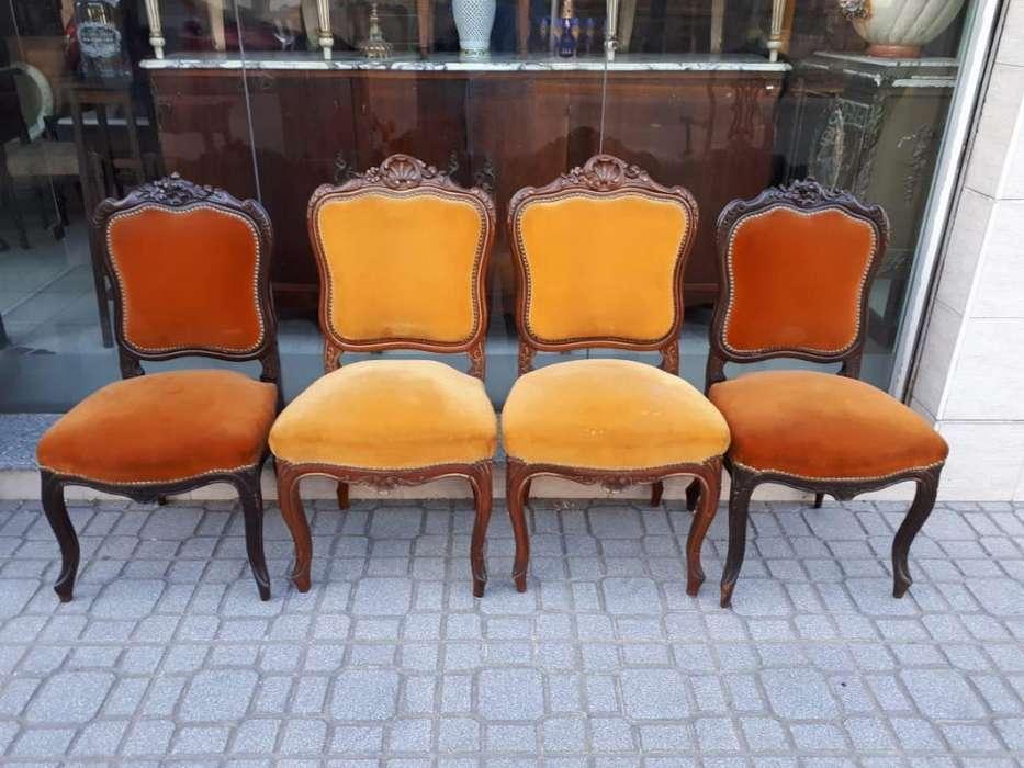 <strong>silla</strong>s Antiguas Luisxv Rococó Impecables