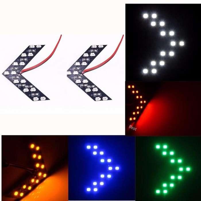Moda Accesorios Del Coche de Señal direccional Luces Flechas