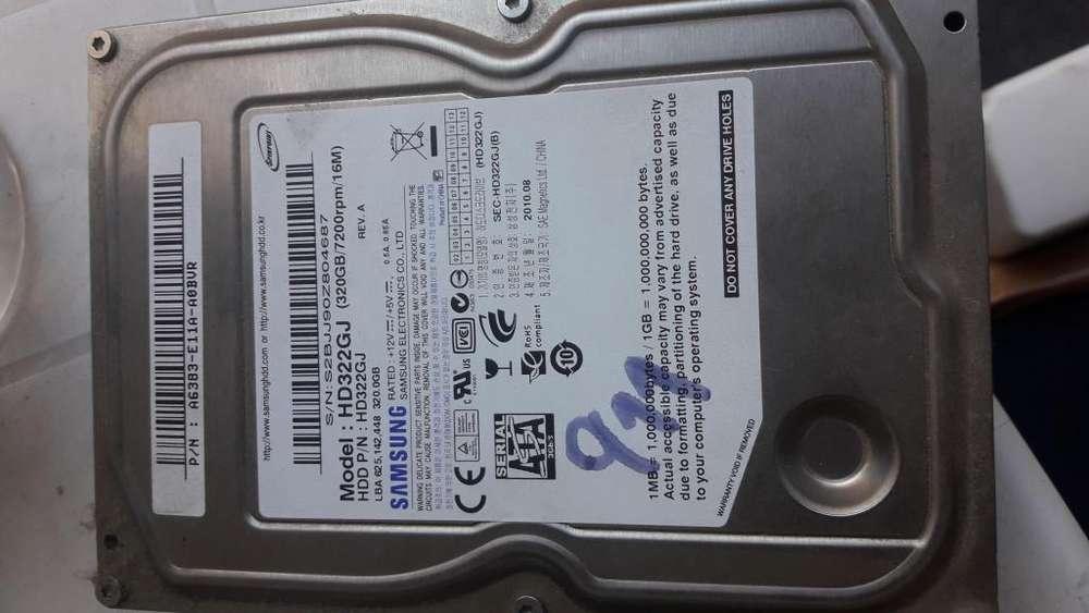 Disco rigido Samsung 320gb para <strong>pc</strong>