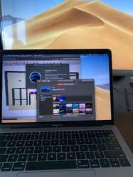 """Macbook Pro 13"""" i5 2.3 GHz 2017 8GB 5 Ciclos Garantia 10 meses"""