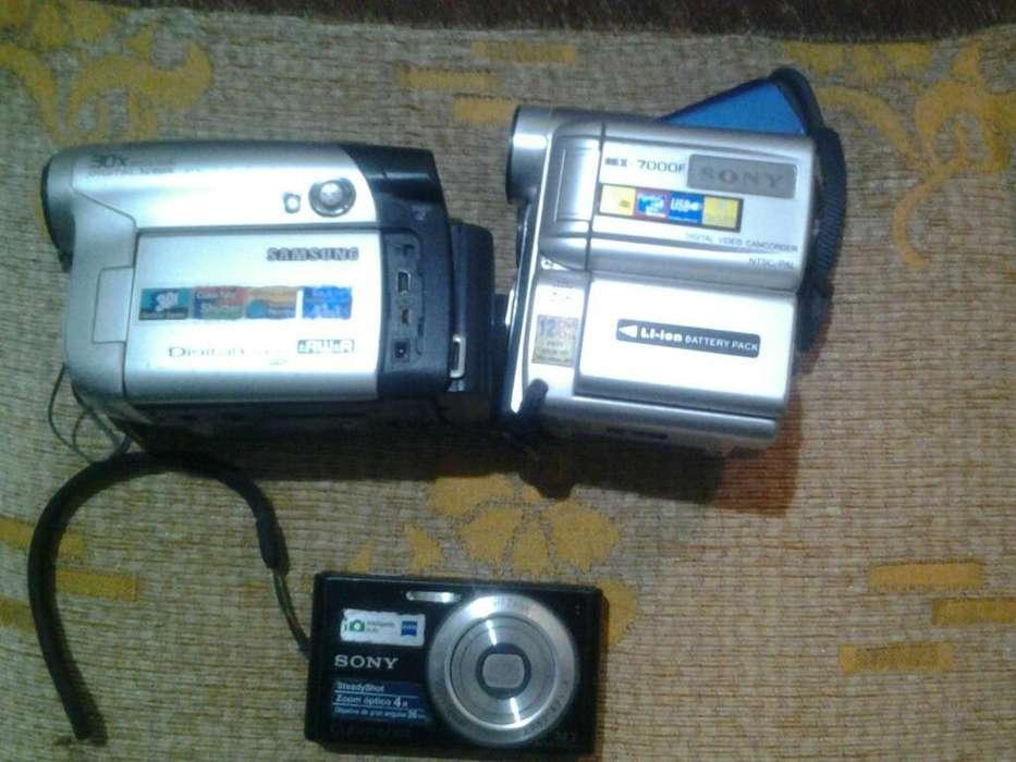Filmadoras Samsung Y Sony