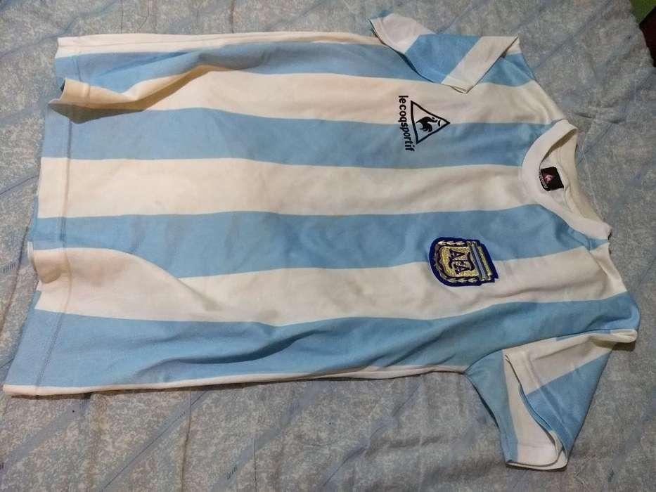 Camiseta Argentina Campeón 1986 Marado