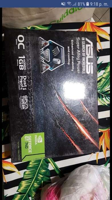 Vendo Placa de Video Geforce Gt 740