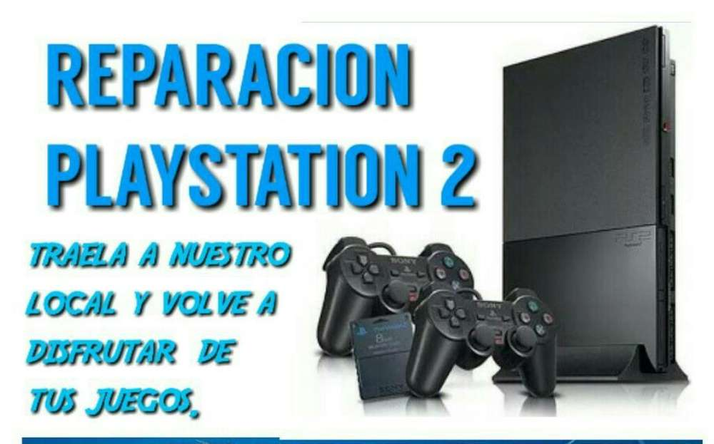 Reparo Play 2 Station Ps2