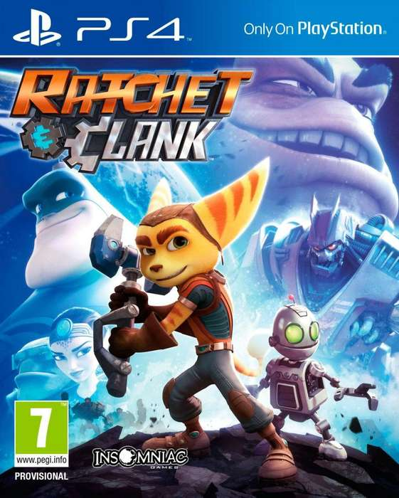 Ratchet Clank ps4 usado