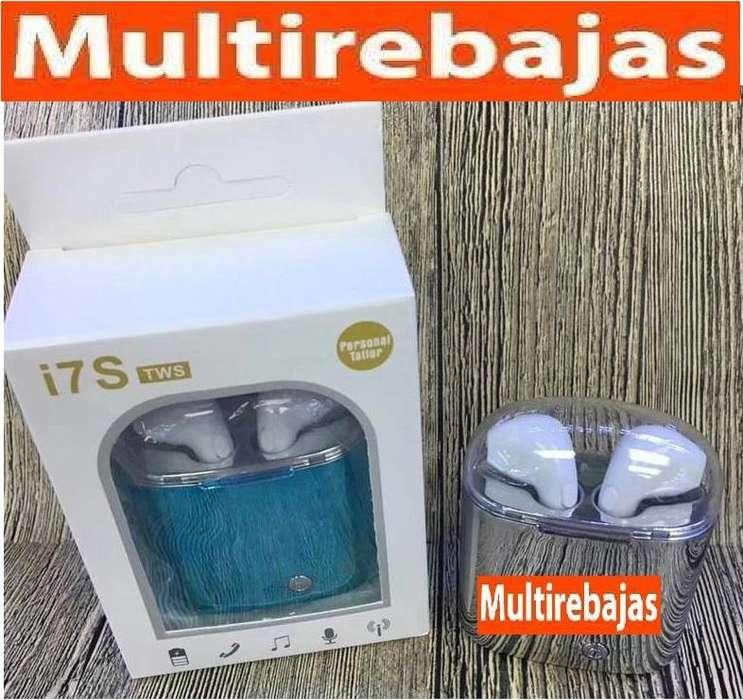 i7S Audífono Con <strong>bluetooth</strong> Con Esclusivo Estuche