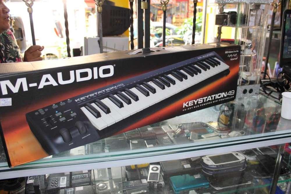 Controlador de MIDI M-AUDIO Keystation 49 En excelente estado