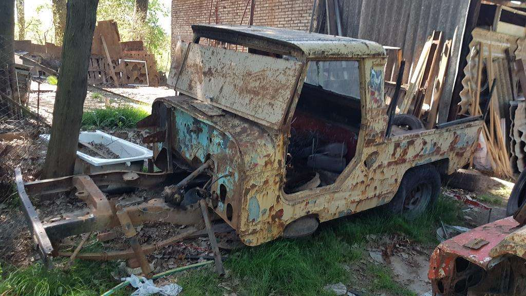 Vendo Chasis de Jeep Ika Pikup