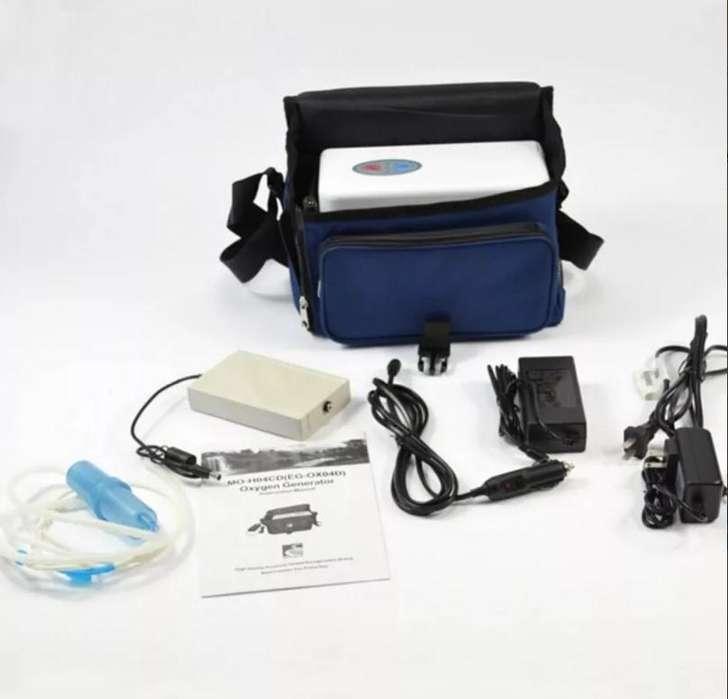 Concentrador de Oxigeno PORTATIL, dos baterias 1.500.000