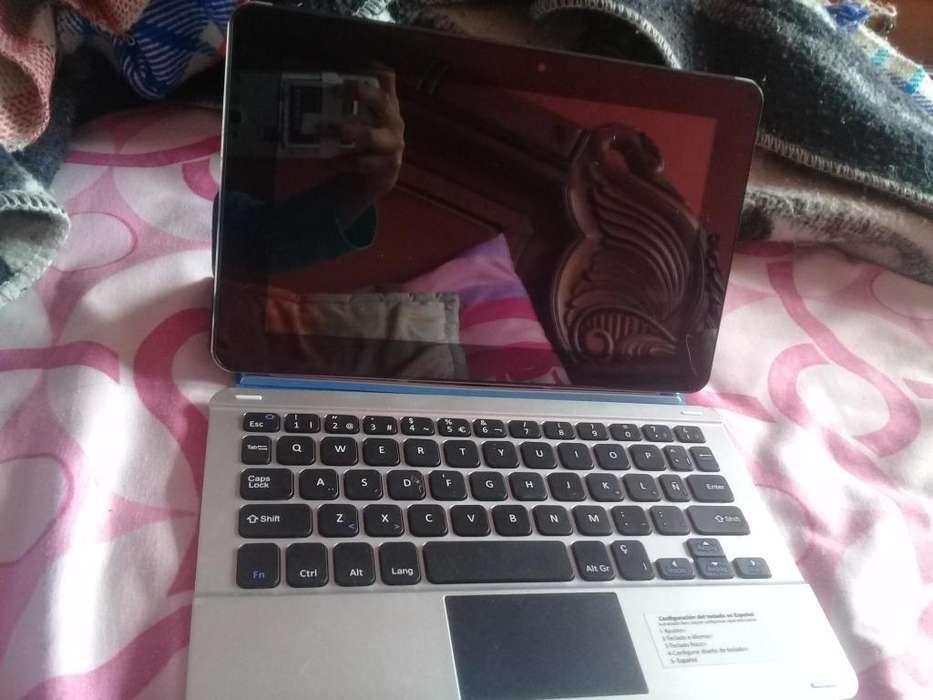 Tablet que se convierte en laptop