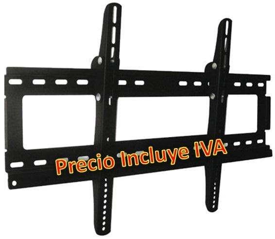 Soporte De Pared Tv 32 A 65 Soporta Hasta 50 Kg Lcd Led PRECIO INCLUYE IVA