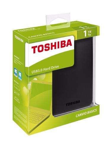 Disco Duro Externo Toshiba Canvio Usb 3.0 1 Tera 1tb 1 Tb