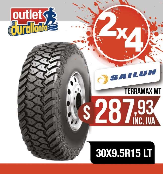 <strong>llanta</strong>S 30X9.5R15 LT SAILUN TERRAMAX MT