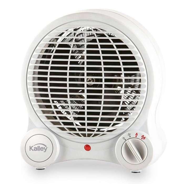 <strong>calefactor</strong> Calentador De Ambiente Kalley K-ca18 Blanco