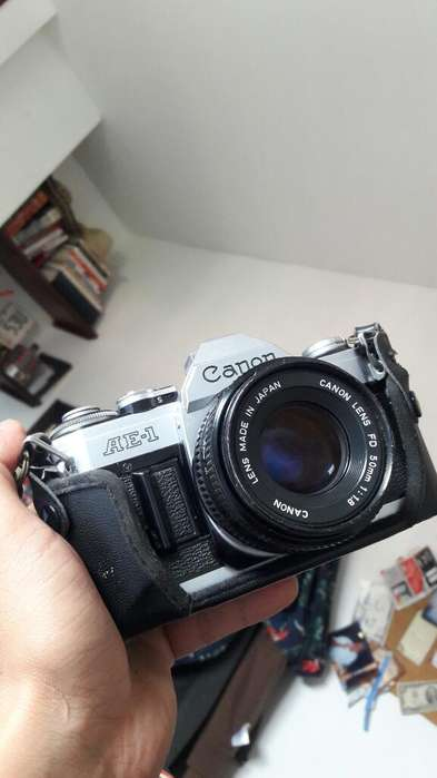Camara Canon Ae1 - Flash Incluido