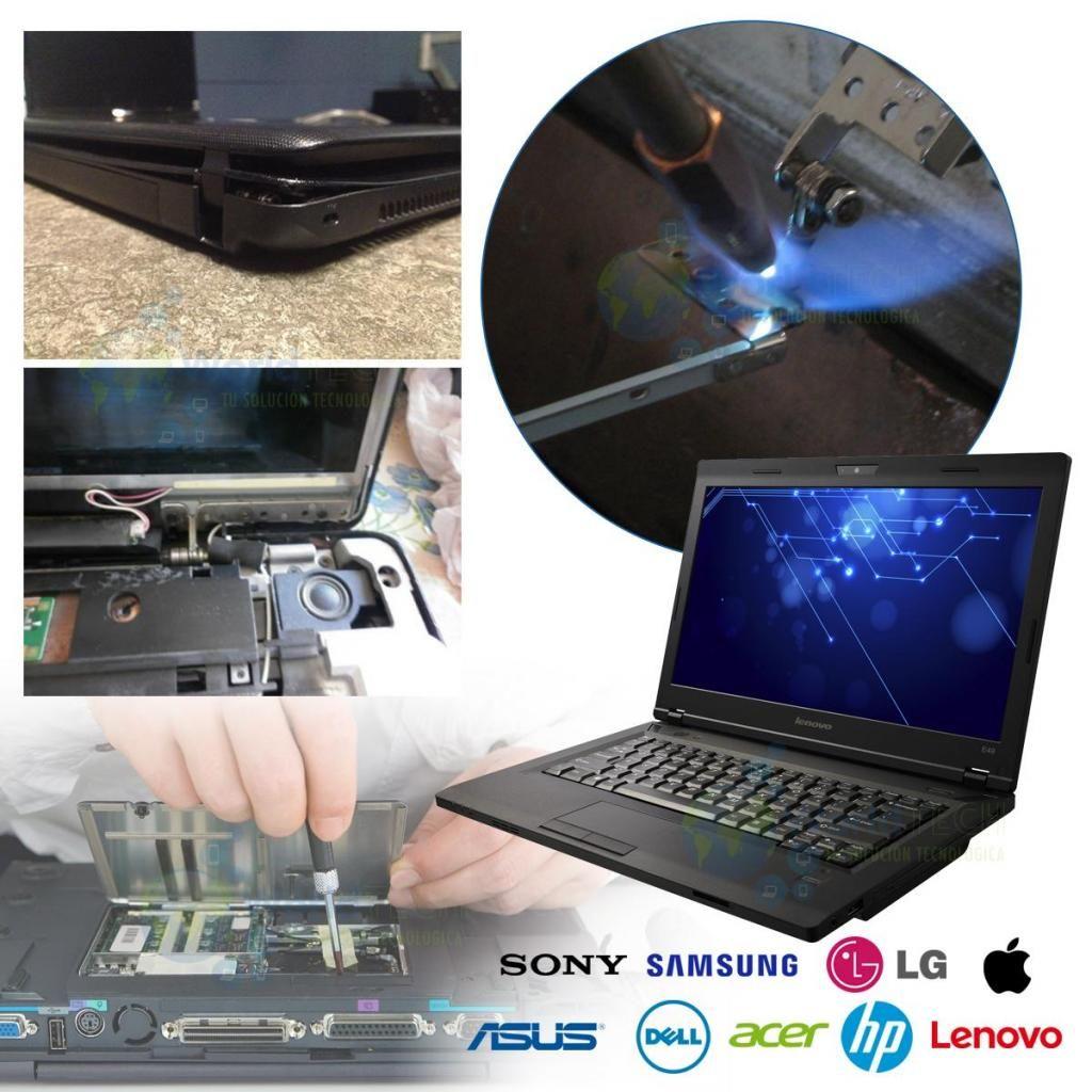 Reparacion Servicio Bisagras Laptop Hp Dell Toshiba Acer Etc